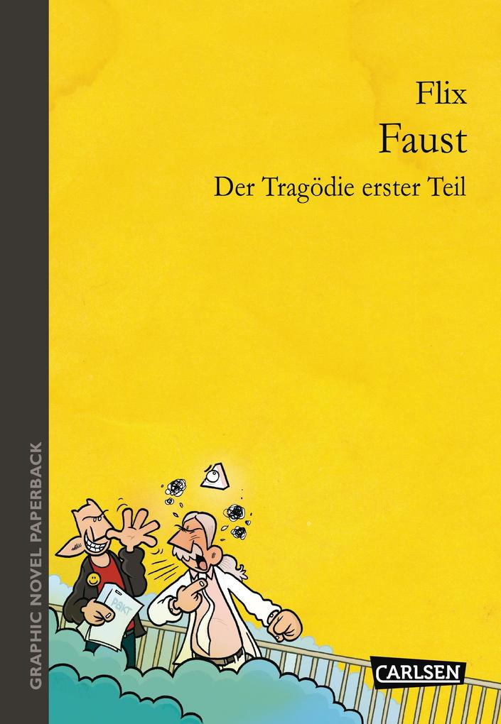 Graphic Novel paperback: Faust als Buch