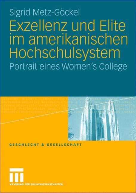 Exzellenz und Elite im amerikanischen Hochschulsystem als Buch
