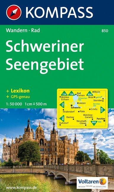 Schweriner Seengebiet 1 : 50 000 als Buch