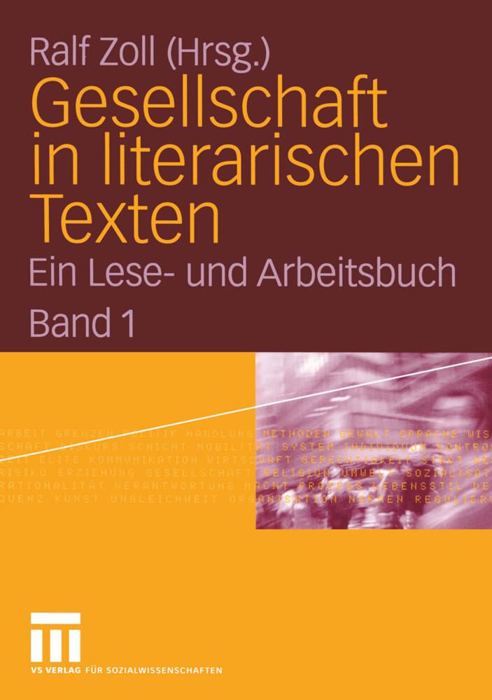 Gesellschaft in literarischen Texten als Buch