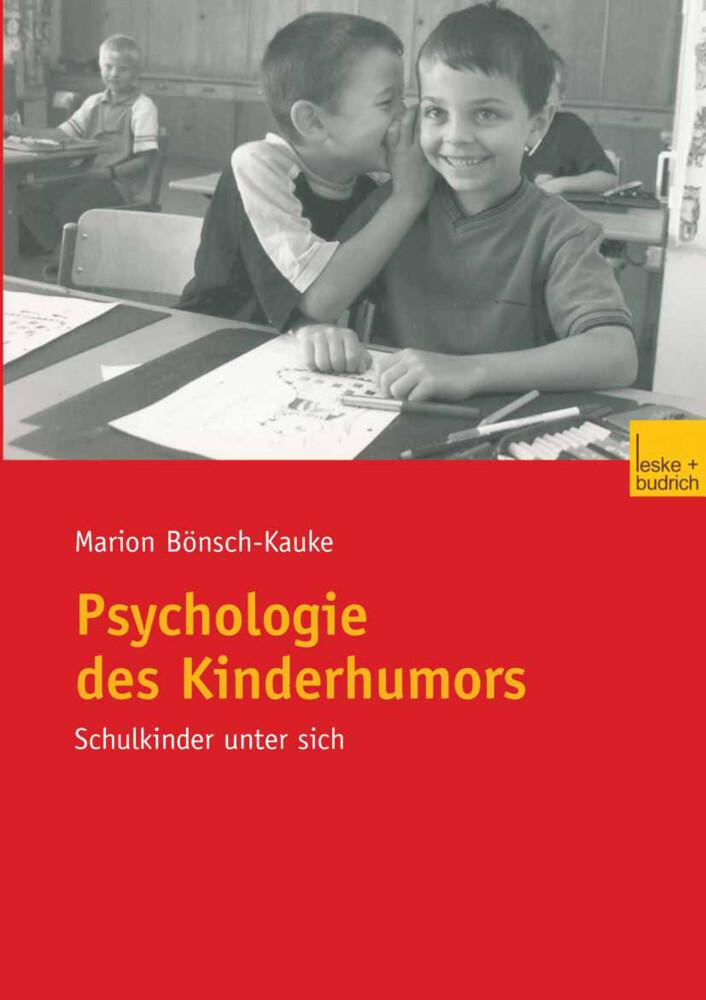 Psychologie des Kinderhumors als Buch