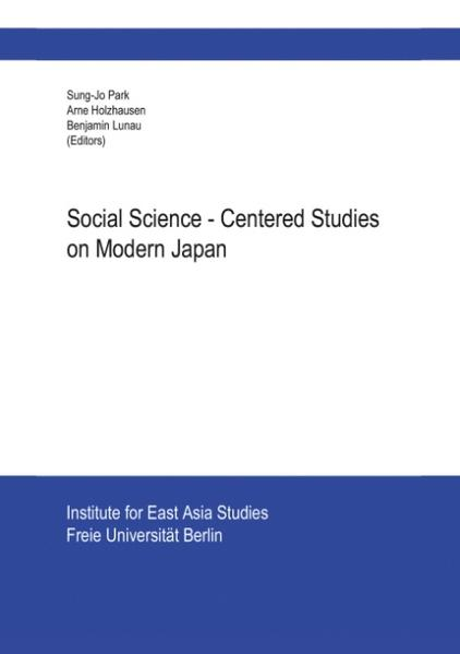 Social Science-Centered Studies on Modern Japan als Buch
