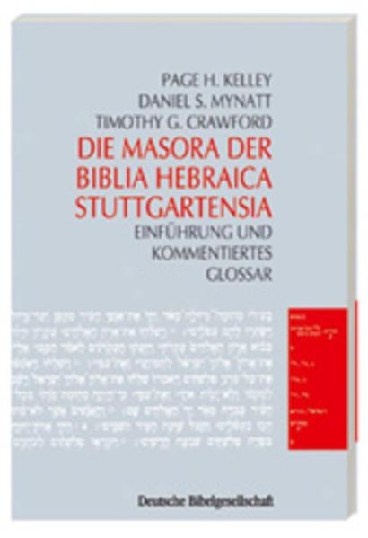 Die Masora der Biblia Hebraica Stuttgartensia als Buch