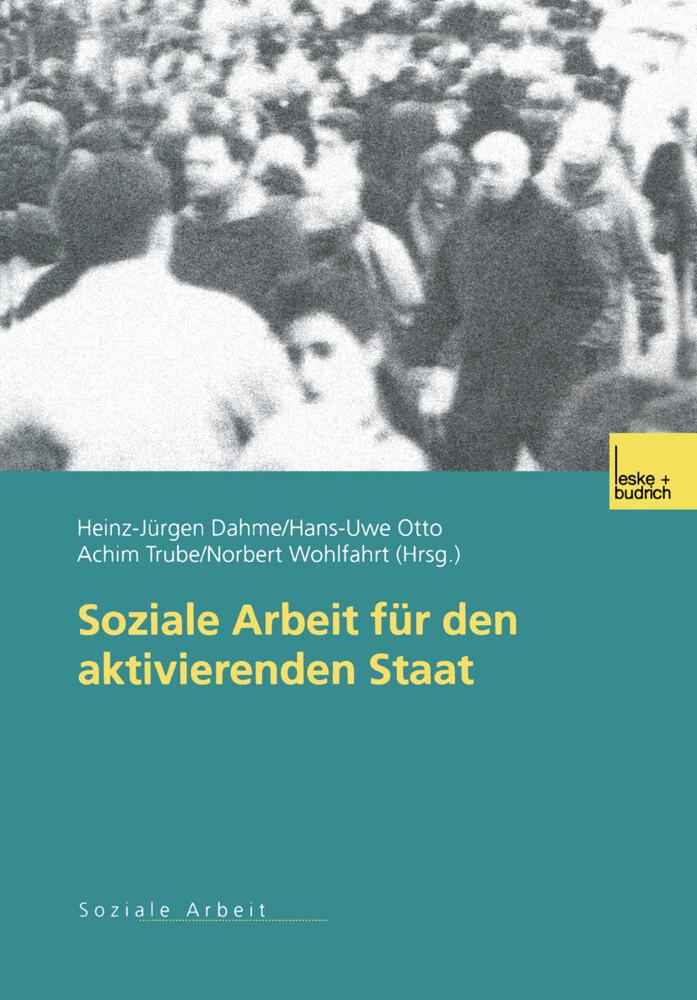 Soziale Arbeit für den aktivierenden Staat als Buch