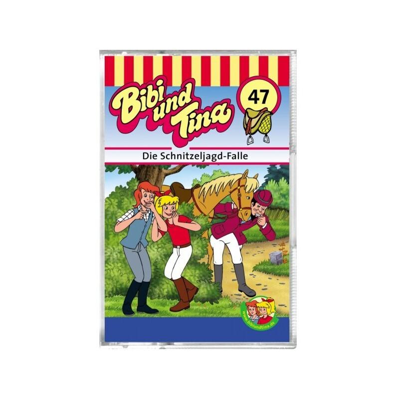 Bibi und Tina 47. Die Schnitzeljagd-Falle. Cassette als Hörbuch