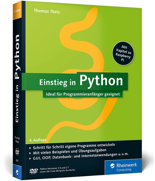 Einstieg in Python als Buch