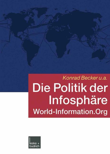 Die Politik der Infosphäre als Buch