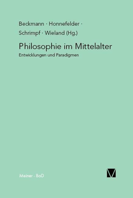 Philosophie im Mittelalter als Buch