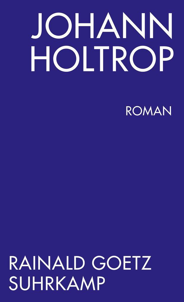 Johann Holtrop. Abriss der Gesellschaft. Roman als Taschenbuch