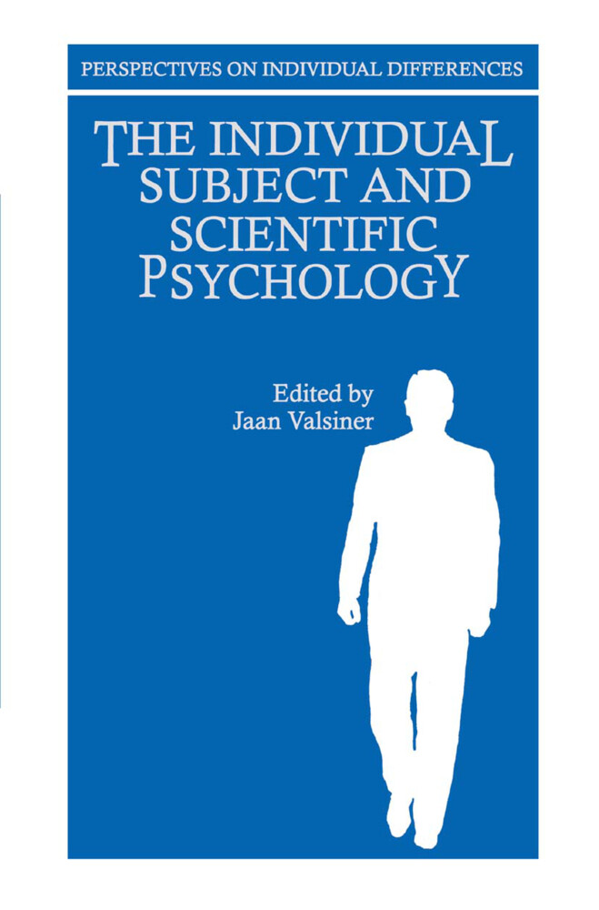 The Individual Subject and Scientific Psychology als Buch