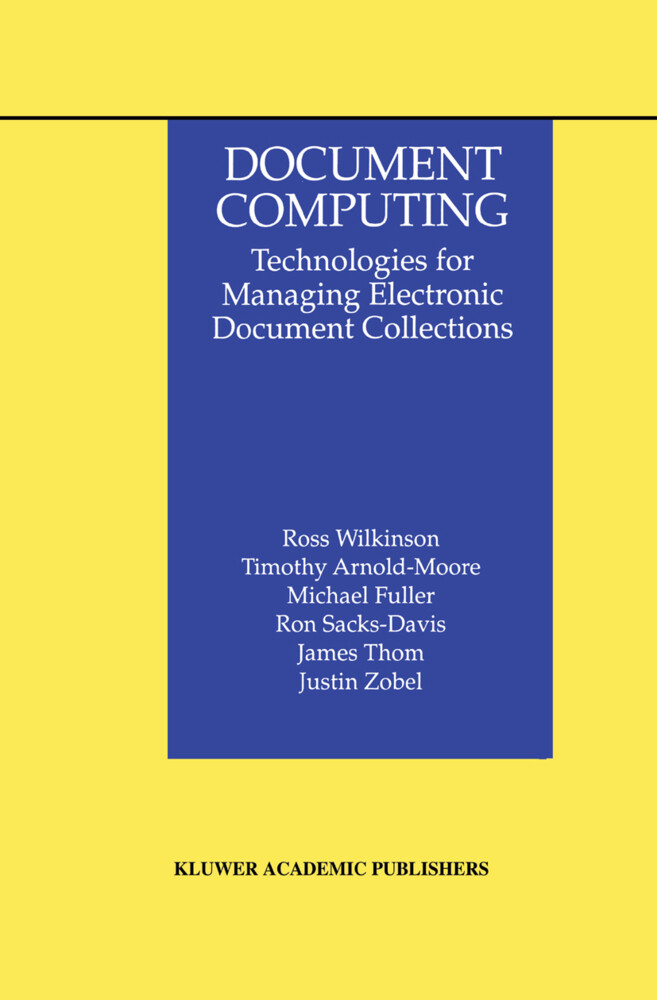 Document Computing als Buch