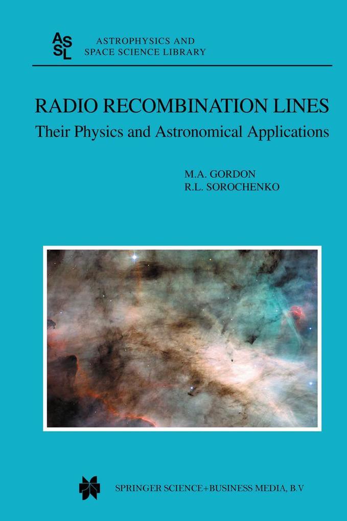 Radio Recombination Lines als Buch