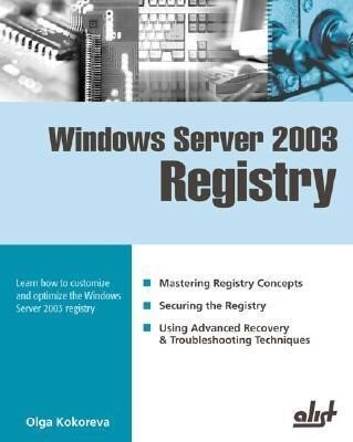Windows Server 2003 Registry als Taschenbuch