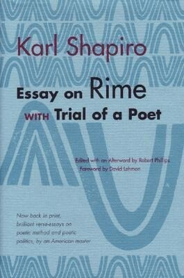 Essay on Rime with Trial of a Poet als Taschenbuch