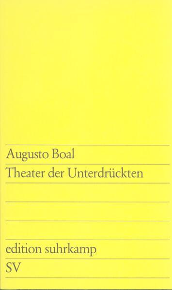 Theater der Unterdrückten als Taschenbuch