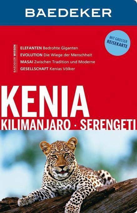 Baedeker Reiseführer Kenia, Kilimanjaro, Serengeti als Buch