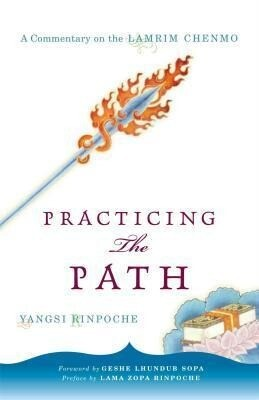 Practicing the Path: A Commentary on the Lamrim Chenmo als Taschenbuch