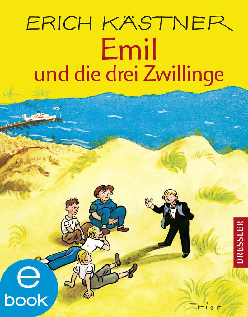 Emil und die drei Zwillinge als eBook von Erich Kästner
