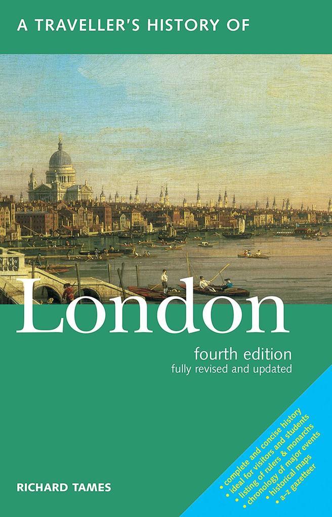 Traveller's History of London als Taschenbuch