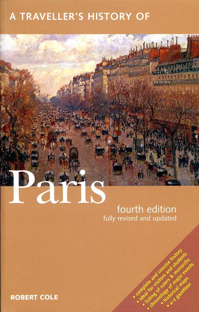 A Traveller's History of Paris als Taschenbuch