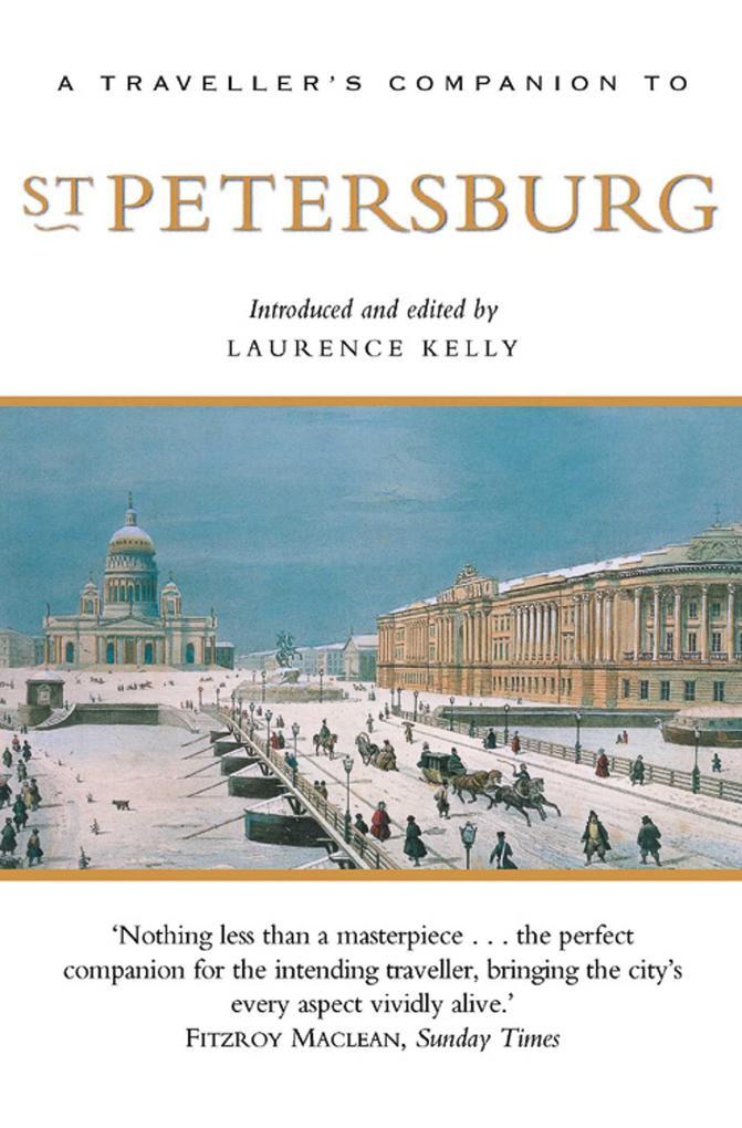 A Traveller's Companion to St. Petersburg als Taschenbuch