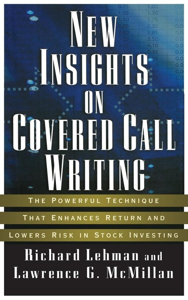 New Insights Covered Call Writ als Buch