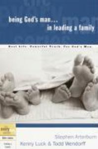 Being God's Man in Leading a Family als Taschenbuch