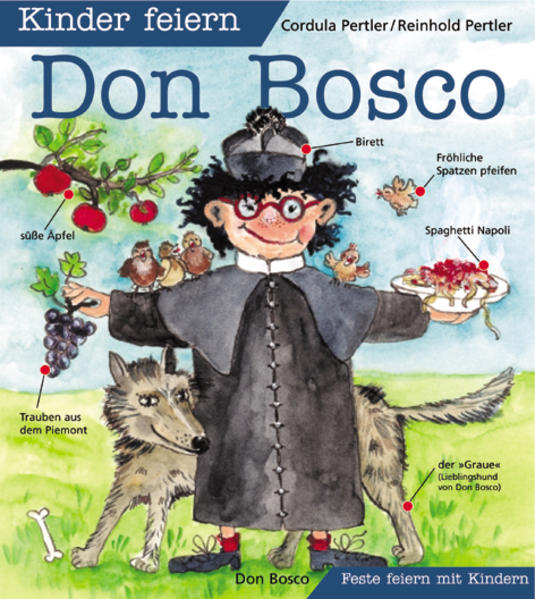 Kinder feiern Don Bosco als Buch