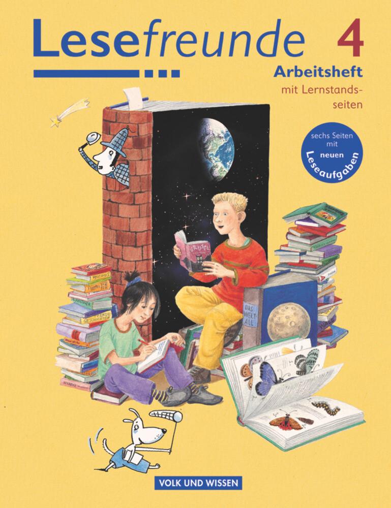 Lesefreunde 4. Schuljahr. Arbeitsheft als Buch