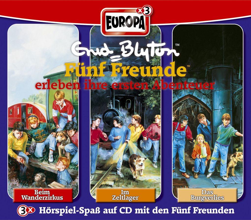 Fünf Freunde Box 01. Einsteigerbox. 3 CDs als Hörbuch