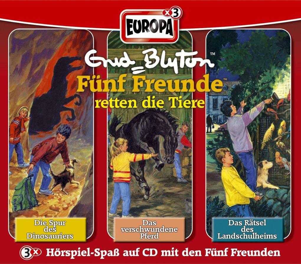 Fünf Freunde Box 02. 3 CDs als CD