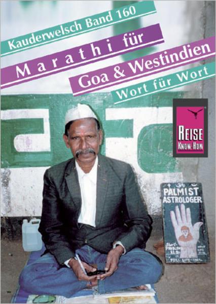 Marathi für Goa und Westindien. Kauderwelsch als Buch