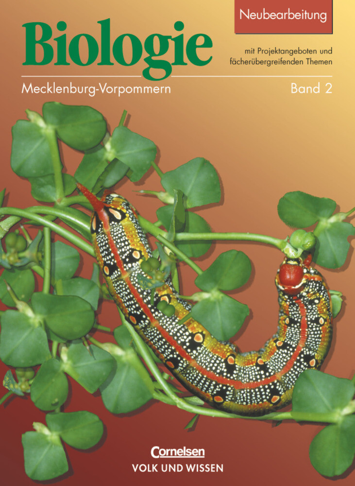 Biologie 2. Lehrbuch. Neubearbeitung. Mecklenburg-Vorpommern als Buch