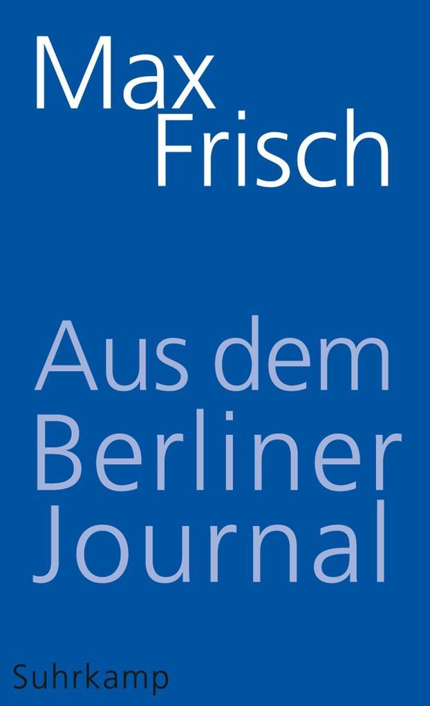 Aus dem Berliner Journal als eBook