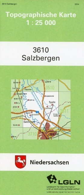 Salzbergen 1 : 25 000 (TK25 3610/NA) als Buch