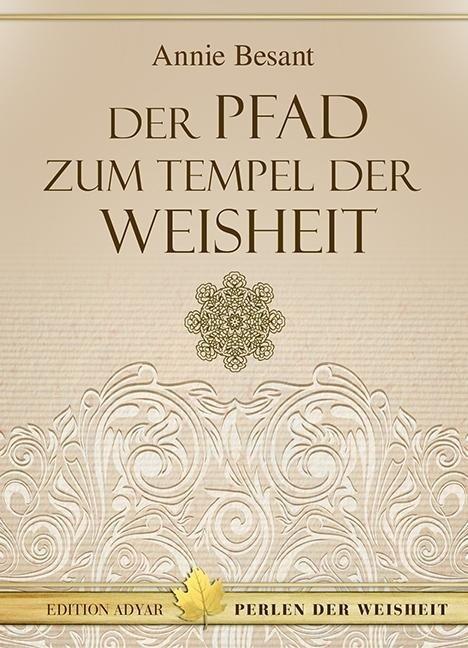Der Pfad zum Tempel der Weisheit als Buch
