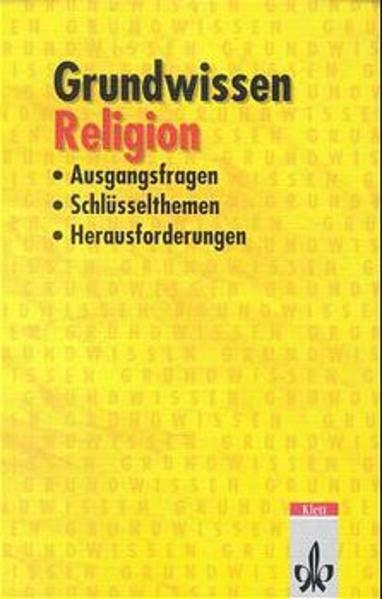 Grundwissen Religion als Buch
