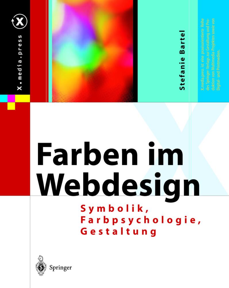 Farben im Webdesign als Buch