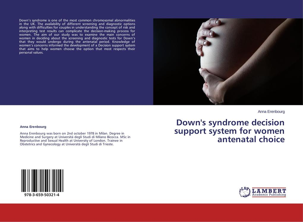 Down´s syndrome decision support system for wom...
