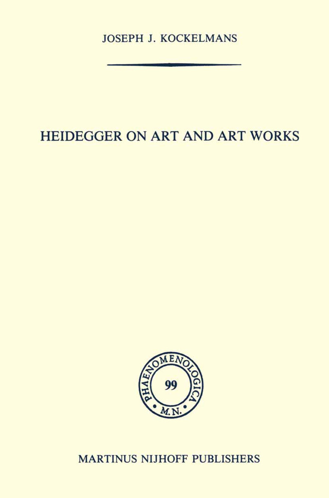 Heidegger on Art and Art Works als Buch