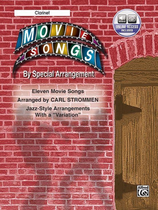 """Movie Songs by Special Arrangement (Jazz-Style Arrangements with a """"Variation""""): Clarinet, Book & CD als Taschenbuch"""