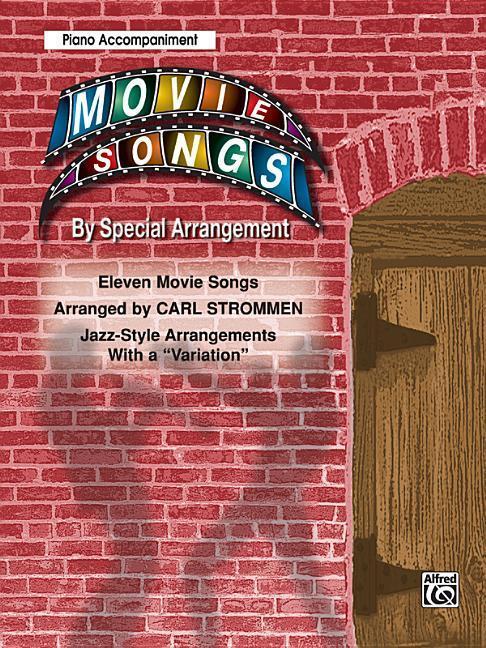 "Movie Songs by Special Arrangement (Jazz-Style Arrangements with a ""Variation""): Piano Acc. als Taschenbuch"