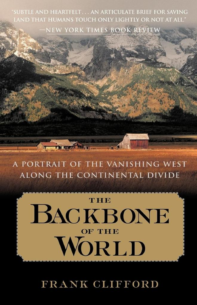 The Backbone of the World als Taschenbuch