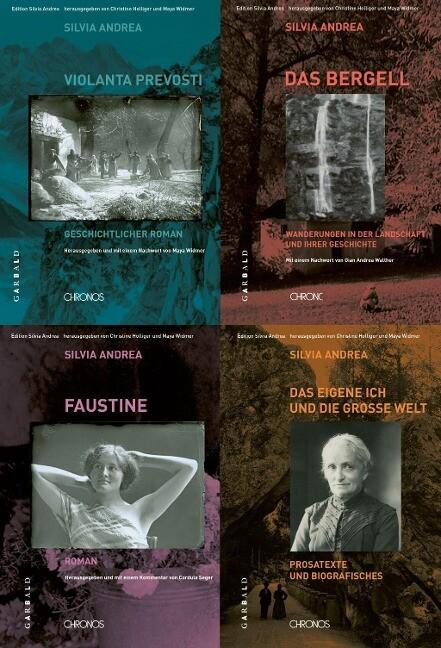 Ausgewählte Werke in vier Bänden als Buch von Silvia Andrea