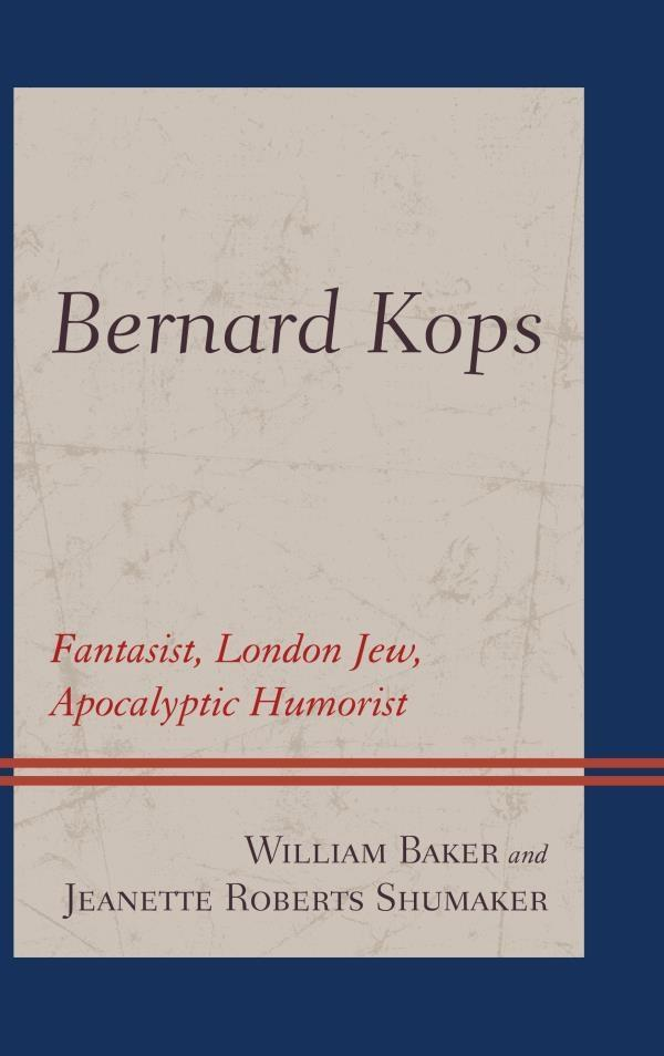 Bernard Kops als eBook von William Baker, Jeanette Roberts Shumaker