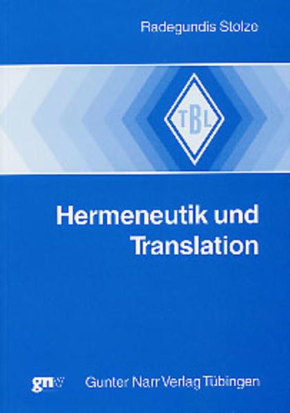 Hermeneutik und Translation als Buch