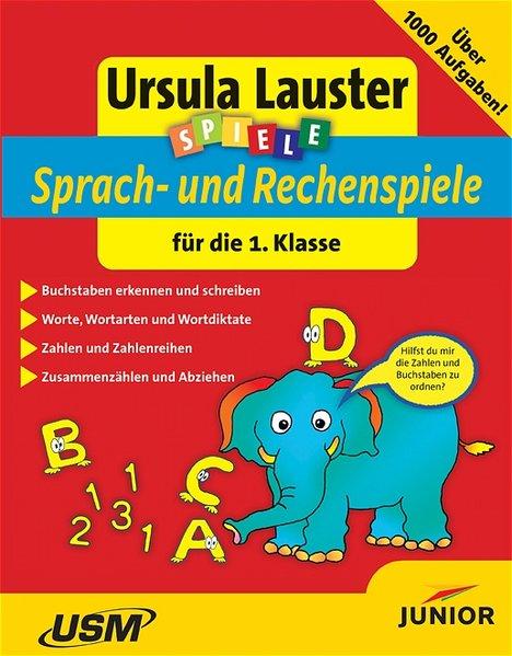 Spiele. Deutsch und Mathematik für die 1. Klasse. CD-ROM für Windows, Mac als Software