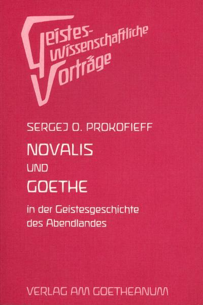 Novalis und Goethe als Buch