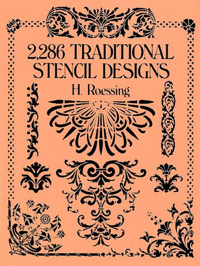 2,286 Traditional Stencil Designs als eBook
