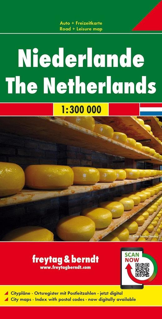 Niederlande 1 : 300 000 als Buch